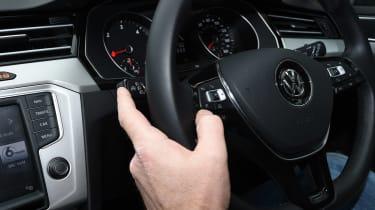 Volkswagen Passat Estate long-term final report - steering wheel controls