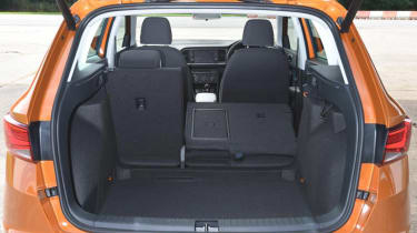 SEAT Ateca - boot seats down