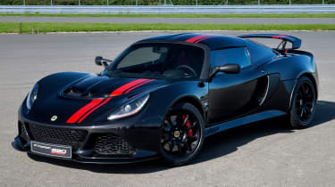 Lotus Exige 350 Special Edition - front quarter