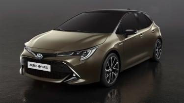 Toyota Auris - front