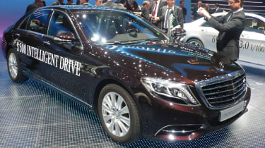 Self driving Mercedes S-Class by end of the decade