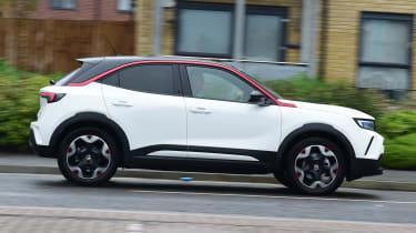 Vauxhall Mokka-e - first report side