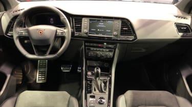 Cupra Ateca SUV interior