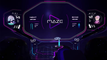 MG MAZE concept - screen