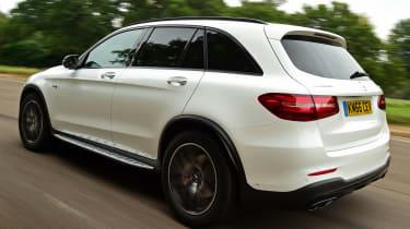 Mercedes-AMG GLC 43 - rear tracking