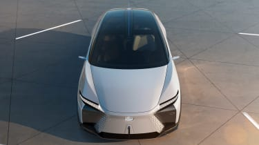 Lexus LF-Z Electrified concept - above