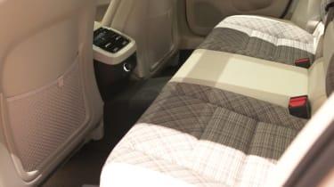 Volvo V60 geneva 2018 rear seats