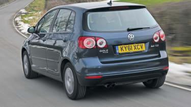 Volkswagen Golf Plus rear tracking