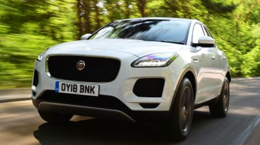 Jaguar E-Pace - front action