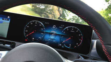 Mercedes A 250 Saloon - dials