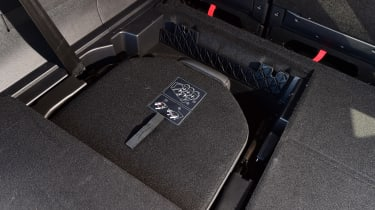 Peugeot 5008 - folded seat