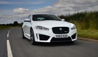 Jaguar XFR-S front action