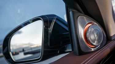 Mercedes E-Class - wing mirror detail