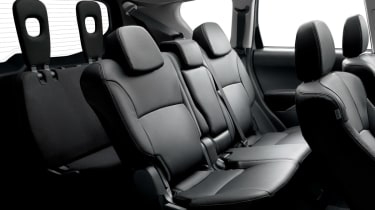 Citroen C-Crosser mpv rear seats