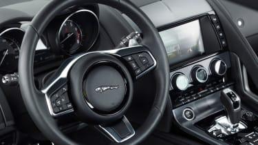 Jaguar F-Type 4-cyl review - steering wheel