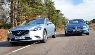 Mazda 6 vs VW Passat