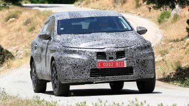 Renault Kadjar coupe-SUV - spyshot 3