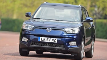 The Tivoli is SsangYong's small crossover.