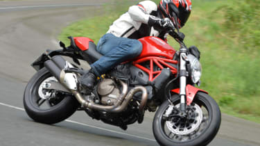 Ducati Monster 821 review - front