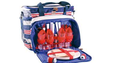 Next 4 Person Stripe Cool Bag