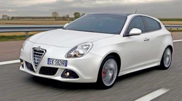 Alfa Romeo Giulietta front tracking