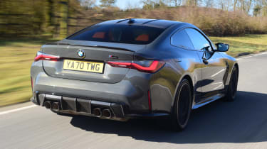 BMW M4 Competition - rear