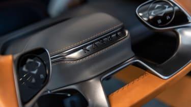 Karma SC2 concept - steering wheel detail