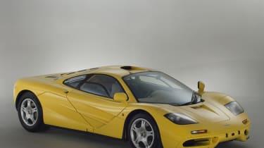 McLaren F1 Yellow front