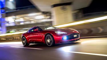 Aston Martin Vanquish Zagato - front action