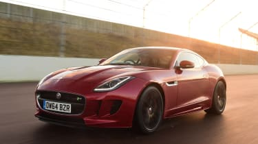 Jaguar F-Type - front