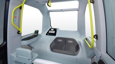 Toyota e-Palette - rear seats