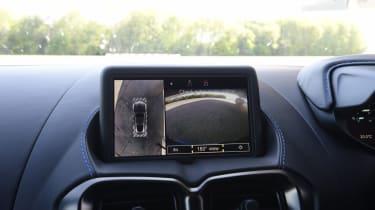 Aston Martin Vantage parking camera