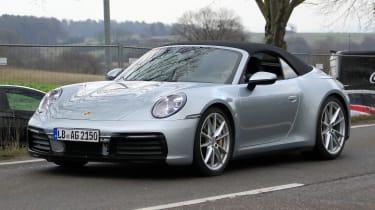New Porsche 911 Cabriolet - spyshot 2