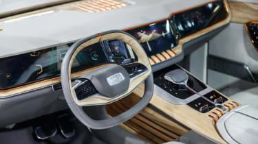 Jeep Yuntu concept - dash