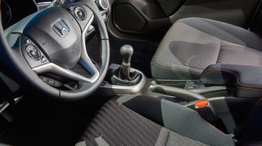 Honda Jazz facelift - interior detail