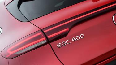 Mercedes EQC 400 - badge