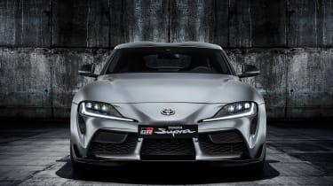 Toyota Supra - grey full front