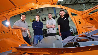 Apprentices - MET team