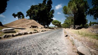 Record breaking roads - Via Appia, Italy
