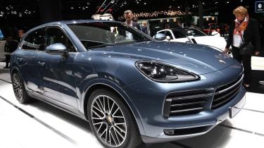 Porsche Cayenne - Frankfurt side/front