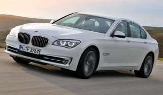 2012 BMW 7 Series front tracking