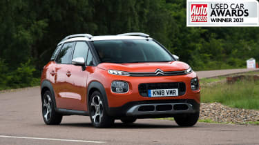 Best used small SUV 2021Citroen C3 Aircross