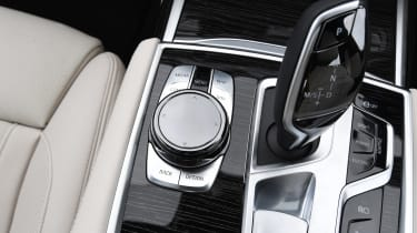 BMW 745Le xDrive - transmission