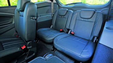 Ford Grand C-MAX EcoBoost rear seats