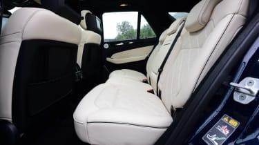 Mercedes GLE 2015 rear seats
