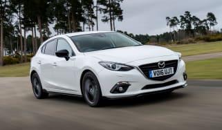 Mazda 3 Sport Black front side