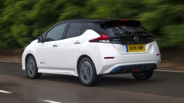 Nissan Leaf rear tracking
