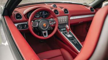 Porsche Boxster 25 Years - dash