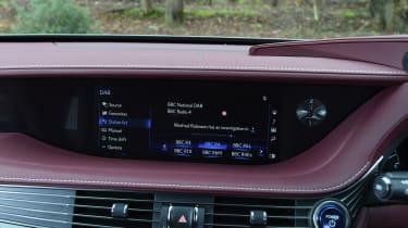 Lexus LS - infotainment