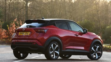 Nissan Juke - rear static